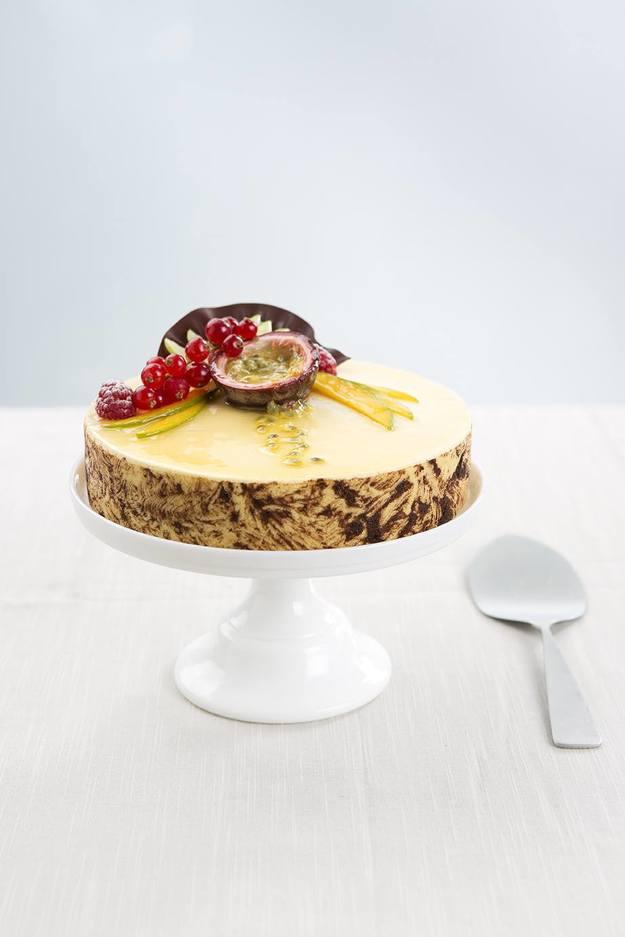 Bilde av Pasjonsfrukt kake