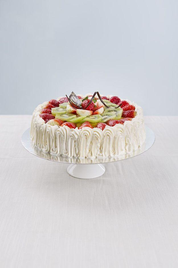 Bilde av Glutenfri Jordbær/Kiwi-Kake