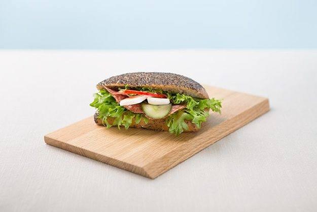 Bilde av Dobbeldekker frokostbit m/egg og tomat