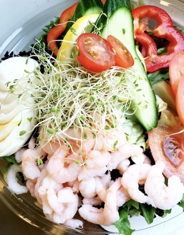 Bilde av Salat med Reker&Egg