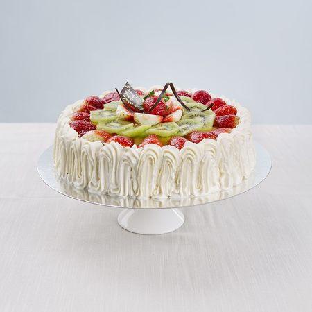 Glutenfri Jordbær/Kiwi-Kake