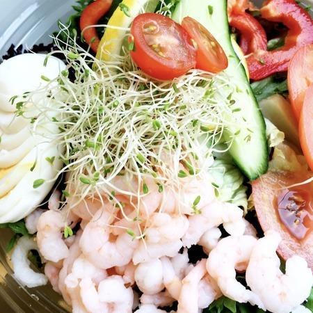 Salat med Reker&Egg