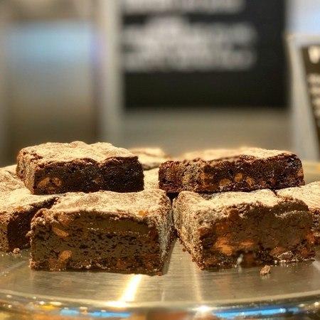 Brownies med Hvit-sjokoladeKnapper