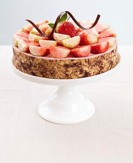 Jordbærmousse